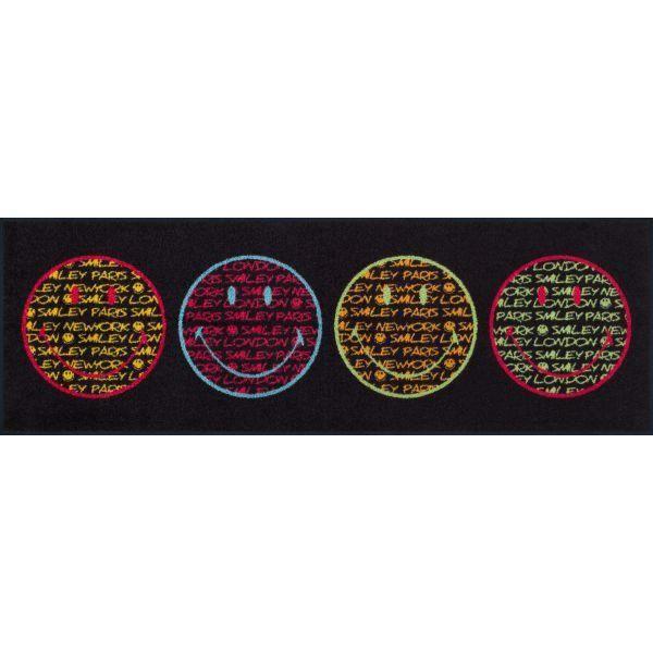 Tapis Design Smiley Retro Light 60 X 180 Achat Vente Tapis Cdiscount