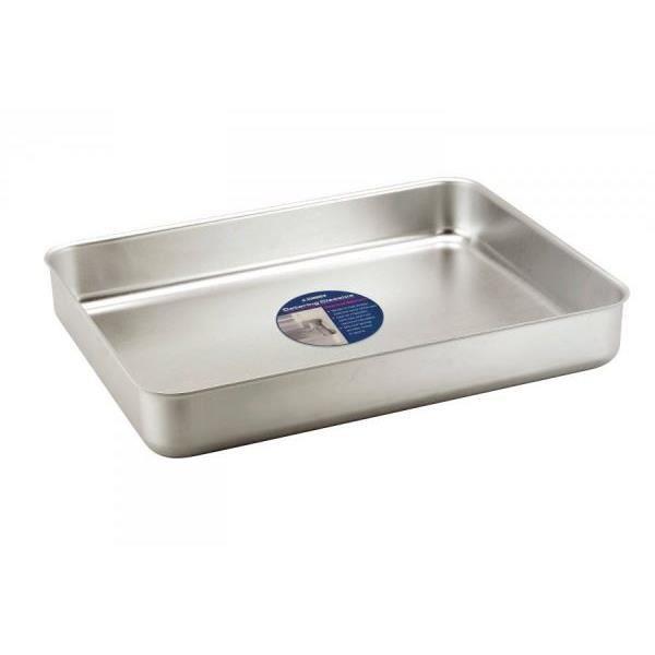 Bac de cuisson 5 6 litres en alu pour r tir viande for Bac de cuisson inox