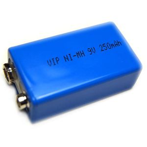 Pile 9v rechargeable ni mh 250mah vip achat vente - Pile 9v rechargeable ...