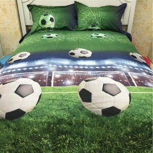 housse de couette football achat vente housse de couette football pas cher les soldes sur. Black Bedroom Furniture Sets. Home Design Ideas