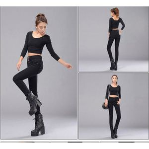 JEANS jeans femme slim fashion sexy jeans  Taille hau...