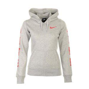 vente chaude en ligne f1120 4c064 sweat nike blanc femme