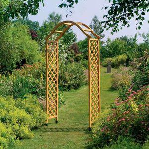 fabulous arceau jardin bois with arceau jardin pas cher. Black Bedroom Furniture Sets. Home Design Ideas