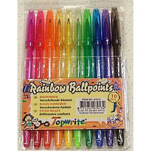 stylo bille de couleur