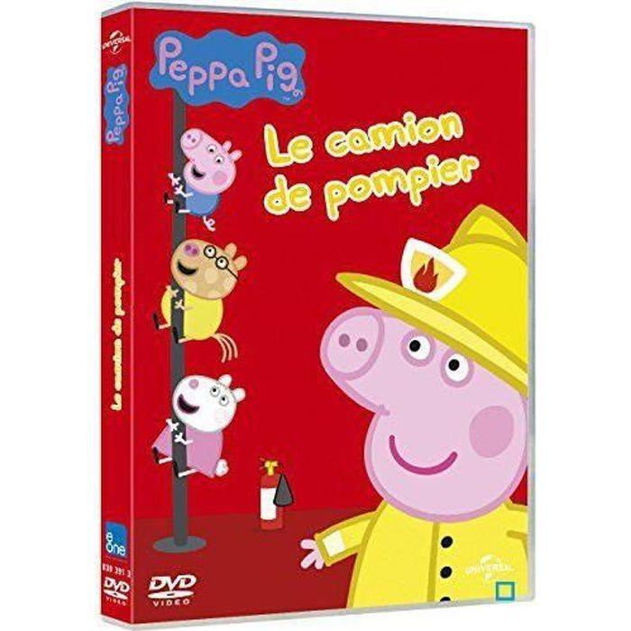 Dvd peppa pig le camion de pompier en dvd dessin anim pas cher les soldes sur cdiscount - Dessin anime de peppa cochon ...