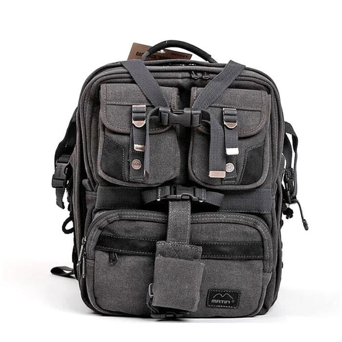 sac dos pour appareil photo objectif flash et ordinateur. Black Bedroom Furniture Sets. Home Design Ideas