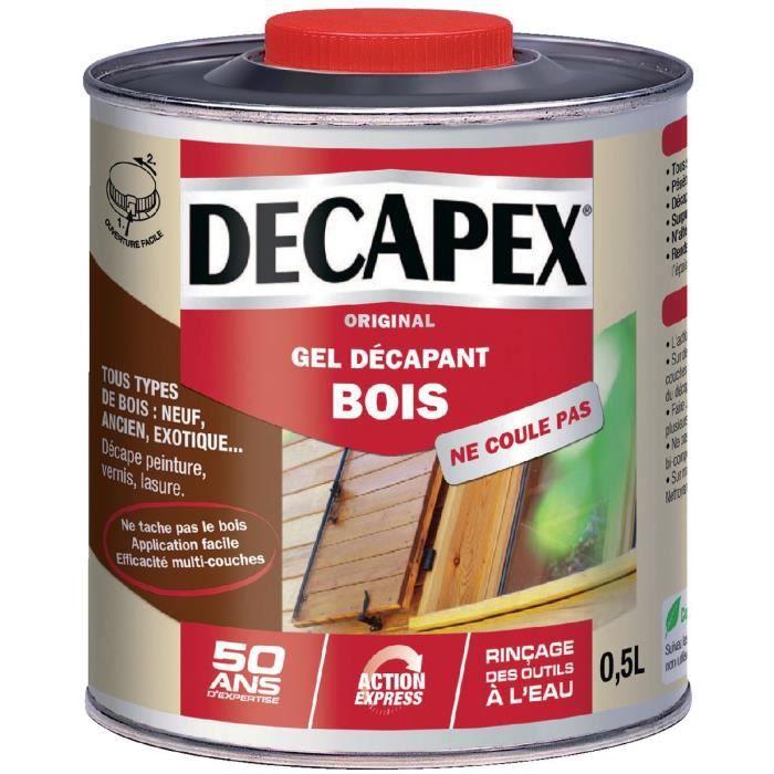 d capant minute bois decapex bidon 0 5 l achat vente sous couche enduit cdiscount. Black Bedroom Furniture Sets. Home Design Ideas