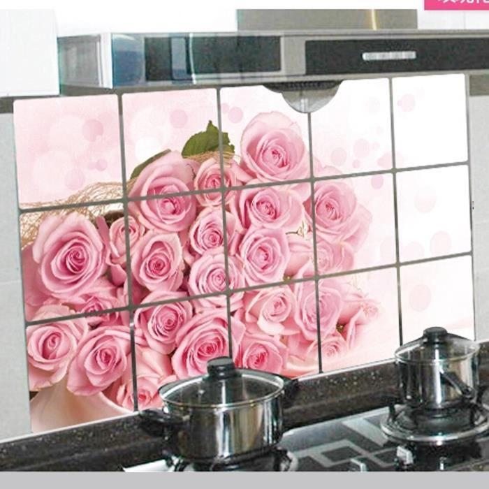 Autocollant de l 39 huile de cuisine achat vente objet for Autocollant decoration murale