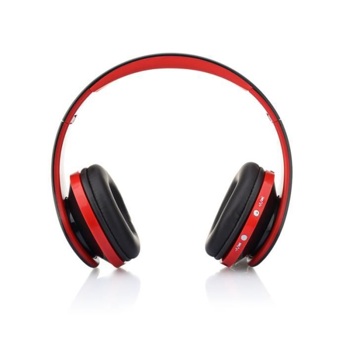 studio wireless st r o casque audio bluetooth rouge. Black Bedroom Furniture Sets. Home Design Ideas