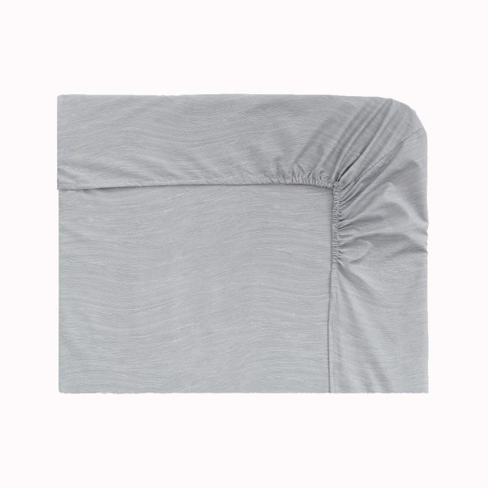 origin vague drap housse perle 140 x 200 cm achat vente drap housse cdiscount. Black Bedroom Furniture Sets. Home Design Ideas