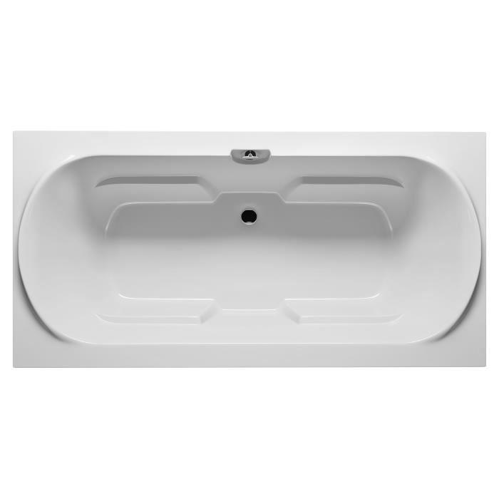 Baignoire acrylique riho montreal 190x90 cm dimensions for Baignoire sur pied 150 cm