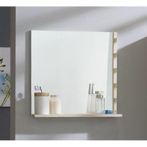 Meuble salle de bain bois clair achat vente meuble for Miroir salle de bain montreal