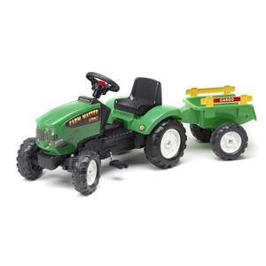 tracteur chantier falk 1061c tracteur remorque vert