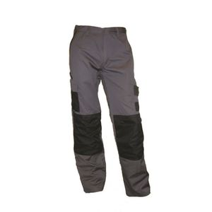 PANTALON PRO Pantalon de travail free2be gris grande taille
