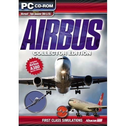 JEUX WII Airbus - The Collector Edition