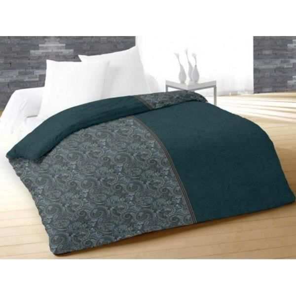 couette 220x240 cm imprim e 400g cm2 ispahan orage achat vente couette cdiscount. Black Bedroom Furniture Sets. Home Design Ideas