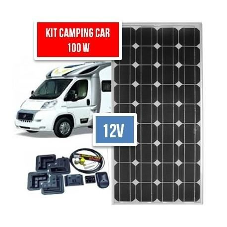 kit solaire camping car 100 w complet 12 v achat vente kit photovoltaique cdiscount. Black Bedroom Furniture Sets. Home Design Ideas