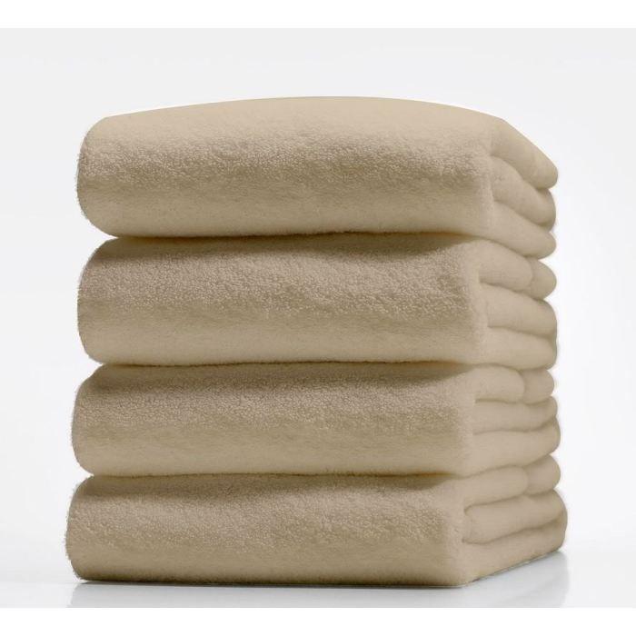 drap de douche 70x130 cm 100 coton beige na achat vente serviettes de bain cdiscount. Black Bedroom Furniture Sets. Home Design Ideas