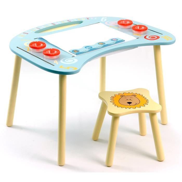 ensemble de table dessin et tabouret animaux achat vente table et chaise 6037657108135. Black Bedroom Furniture Sets. Home Design Ideas