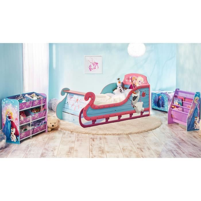 chambre compl te enfant reine des neiges 90x190 achat vente chambre compl te chambre. Black Bedroom Furniture Sets. Home Design Ideas