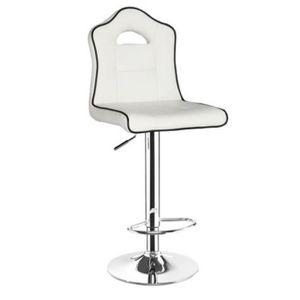 tabouret de cuisine blanc achat vente tabouret de cuisine blanc pas cher cdiscount. Black Bedroom Furniture Sets. Home Design Ideas