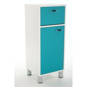 meuble de rangement bleu achat vente meuble de rangement bleu pas cher cdiscount. Black Bedroom Furniture Sets. Home Design Ideas