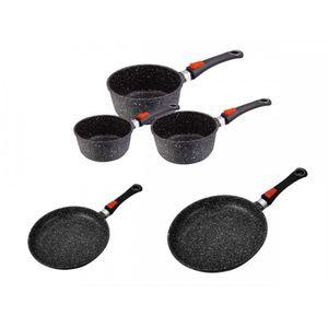 batterie de cuisine kaiser achat vente batterie de cuisine kaiser pas cher cdiscount. Black Bedroom Furniture Sets. Home Design Ideas