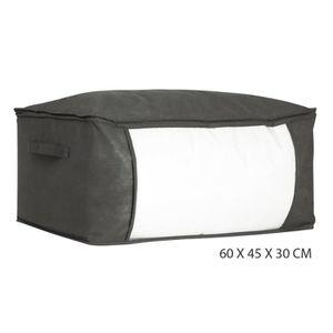 housse de rangement noir taille 60x45x30 cm achat vente housse de rangement housse de. Black Bedroom Furniture Sets. Home Design Ideas