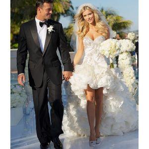 ROBE DE MARIÉE Nouveauté Robe de mariage mariée courte devant lon