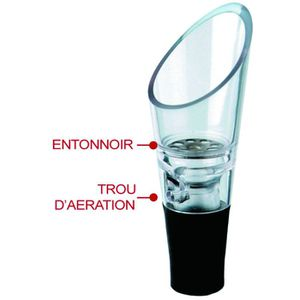 BOUCHON - DOSEUR  Bouchon decanteur aerateur de vin