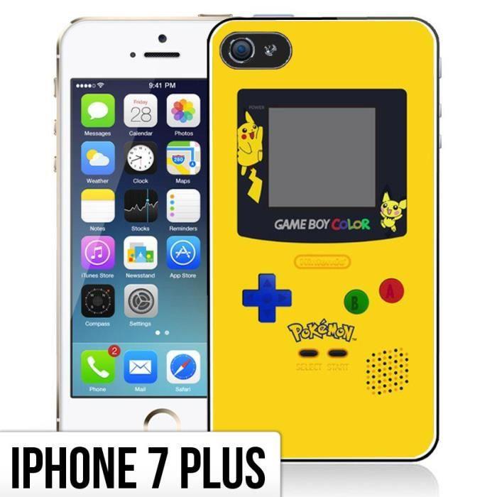 coque iphone 7 plus game boy color pokemon jaune achat coque bumper pas cher avis et. Black Bedroom Furniture Sets. Home Design Ideas