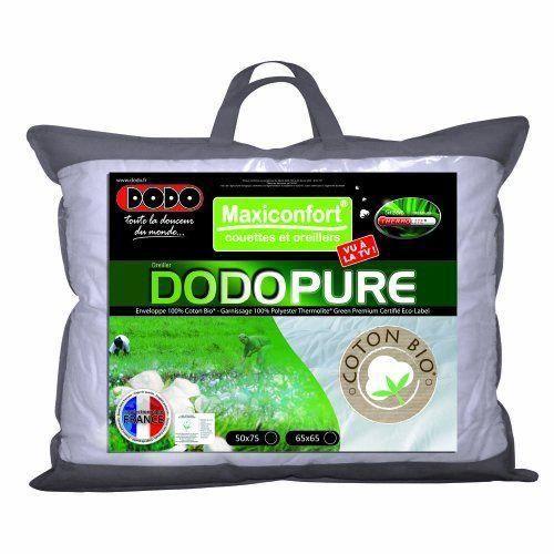 dodo dodopure oreiller classique 50 x 75 cm achat vente oreiller cdiscount. Black Bedroom Furniture Sets. Home Design Ideas