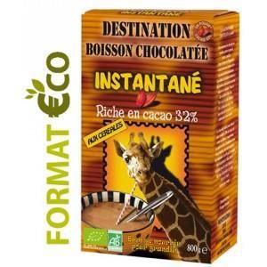CACAO - CHOCOLAT Chocolat instantané cacaoté 32% aux céréales Bi…