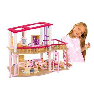 maison de poupee hello kitty achat vente jeux et jouets pas chers. Black Bedroom Furniture Sets. Home Design Ideas