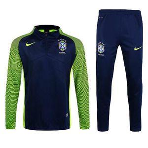 ENSEMBLE DE FOOTBALL Training foot Bresil maillot survêtement Nike