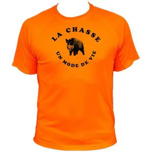 MAILLOT DE CHASSE Tee-shirt chasse sanglier face