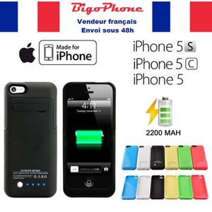 coque rechargeable iphone 5c achat vente coque. Black Bedroom Furniture Sets. Home Design Ideas