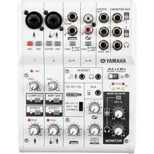 CARTE SON ET DSP Yamaha AG06