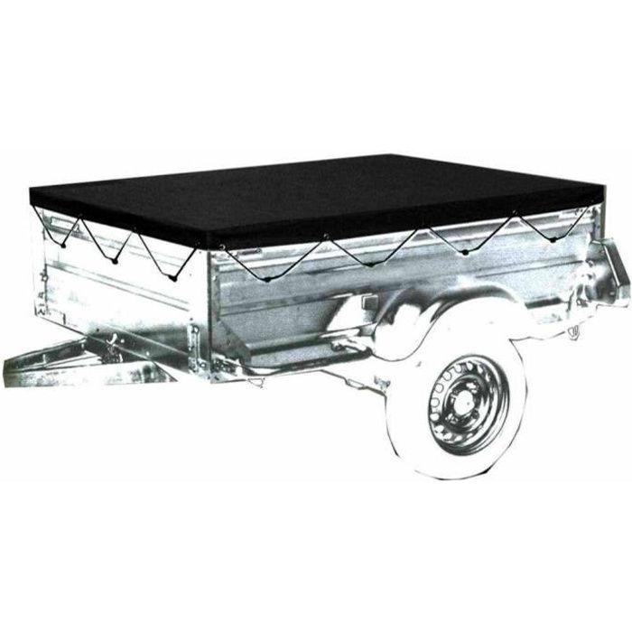 bache de protection pour la remorque 160 x 120 cm achat. Black Bedroom Furniture Sets. Home Design Ideas