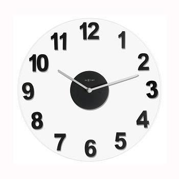 Horloge murale verre murano for Horloge murale verre