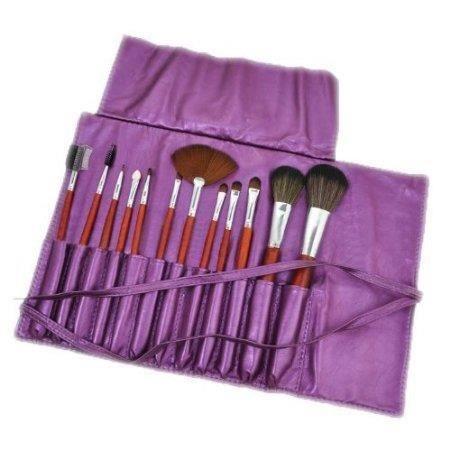 12pcs brosse de maquillage nacre violet porte achat - Porte pinceau maquillage ...