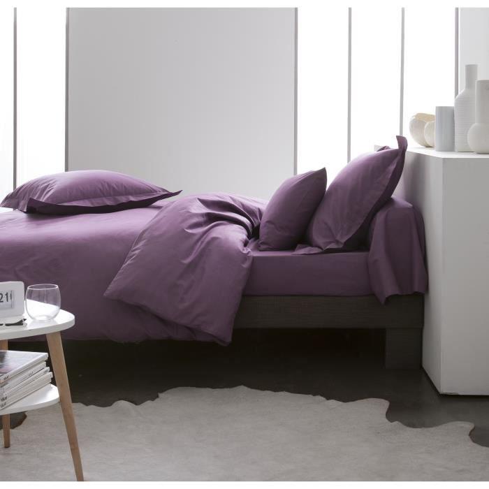 today premium housse de couette percale 100 coton 1 housse de couette 220x240cm figue achat. Black Bedroom Furniture Sets. Home Design Ideas