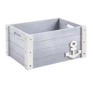 caisse en bois deco achat vente caisse en bois deco pas cher cdiscount. Black Bedroom Furniture Sets. Home Design Ideas