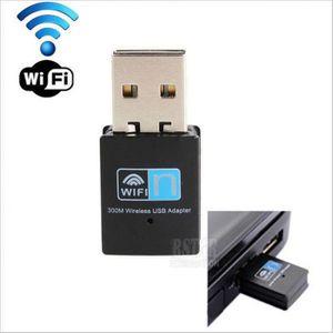 CARTE RÉSEAU  Top Qualité 300 Mbps Mini Usb 2.0 Rtl8192 Wifi Don