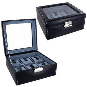coffret pour ranger 6 montres achat vente boite a bijoux coffret pour ranger 6 montr cdiscount. Black Bedroom Furniture Sets. Home Design Ideas