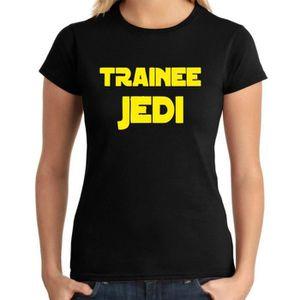 T-SHIRT T-shirt femme DTR0140 Trainee Jedi 25mm 1 Pin Butt