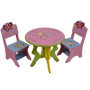 Table enfant avec chaise fille achat vente jeux et - Table enfant avec chaise ...