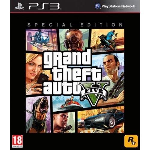 JEUX PS3 GTA 5 EDITION SPECIALE / Jeu PS3