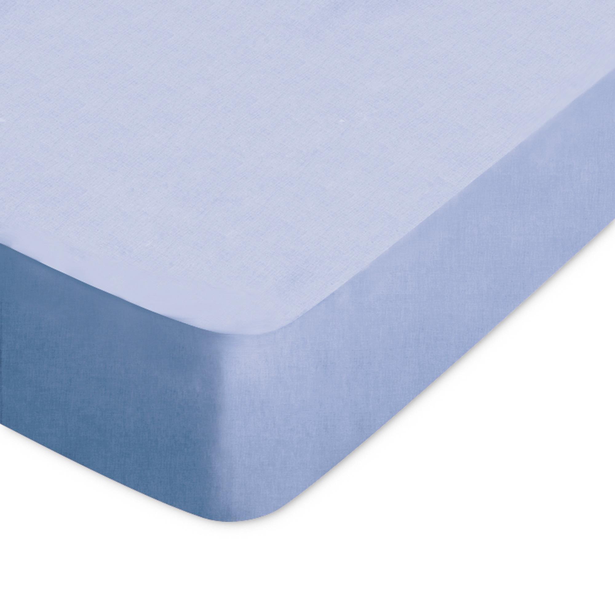Drap housse coton 110x200 belle ile achat vente drap for Drap housse 80x190