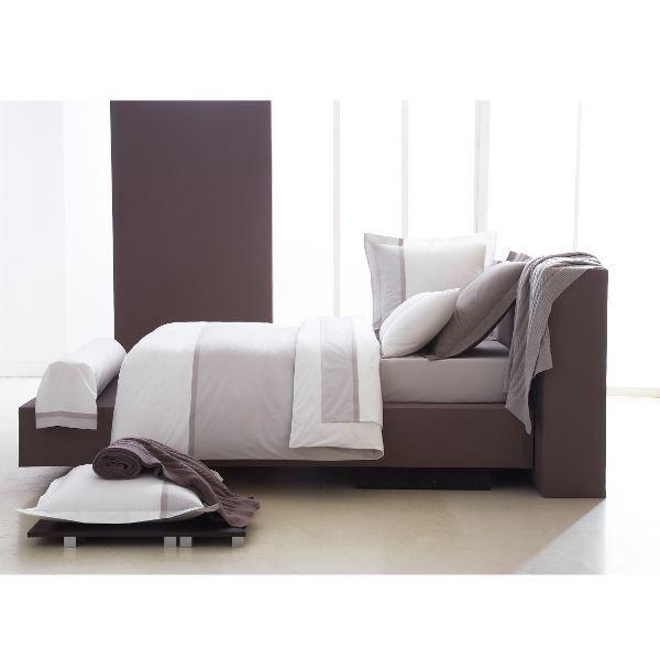 housse de couette 240x220 toi et moi meringue gris perle. Black Bedroom Furniture Sets. Home Design Ideas
